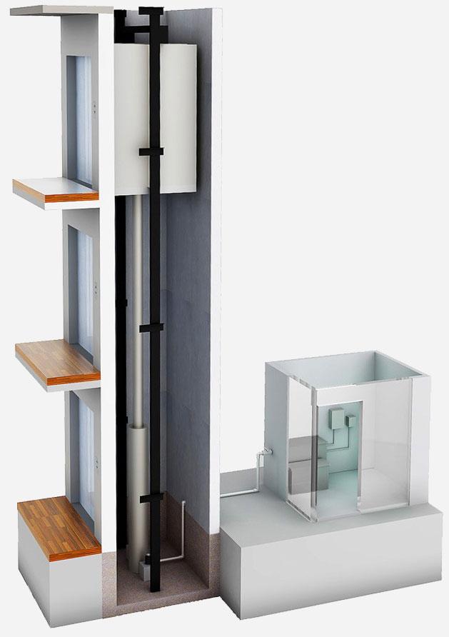 Υδραυλικός Ανελκυστήρας